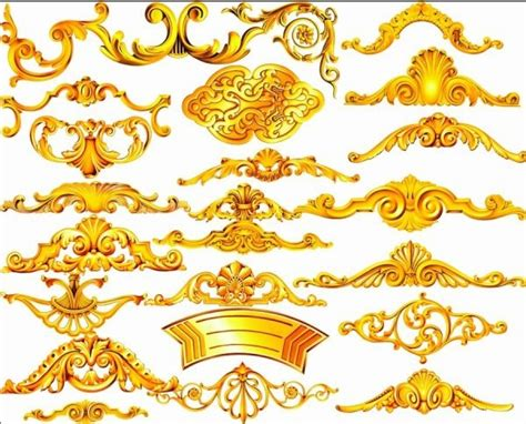 pattern psd file the gold ornamentation psd layered free psd in photoshop