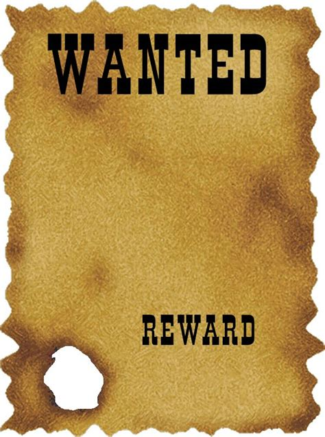 wanted template western wanted poster template free utah council for the