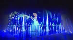 world of color winter dreams frozen on elsa let it go and disney frozen