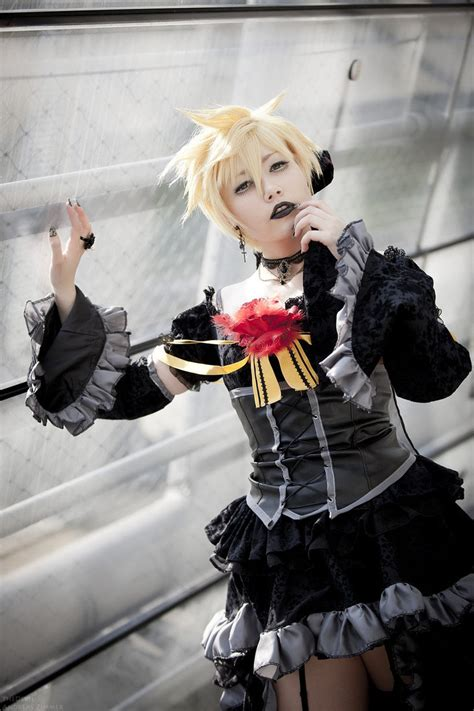 len leipzig len kagami imitation black by thedevil photography on