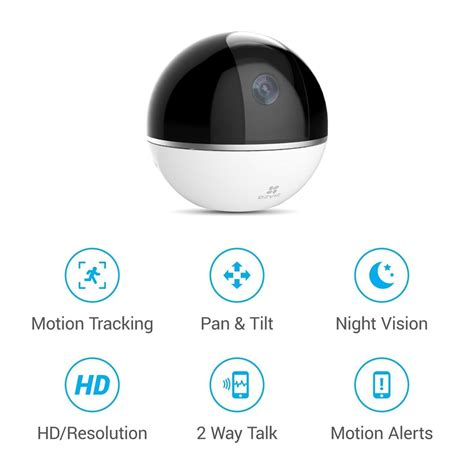 netview cctv ezviz c6t mini 360 plus 1080p ip pan