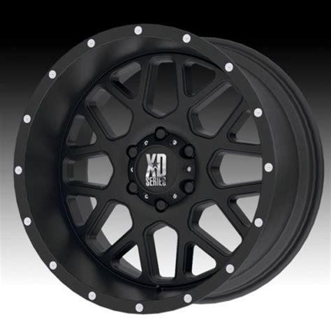details  xd series xd grenade wheels      black rims set