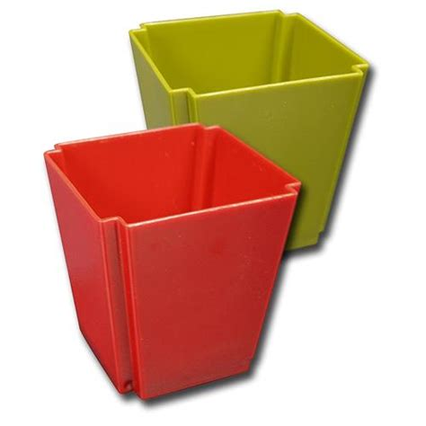 Plastic Square Vase by Wholesale Z4 Square Plastic Vase Assor Glw