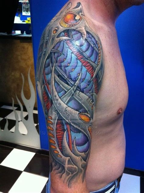 cyber tattoo designs 34 best images about biomechanical tattoos on