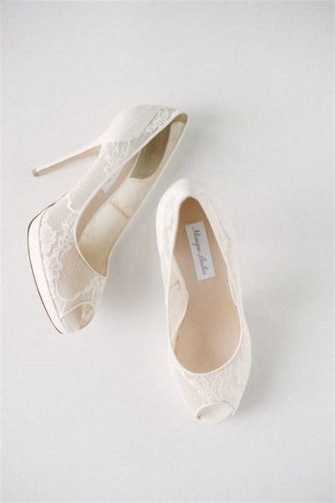Wedding Shoes With Lace by 33 Refined Lace Wedding Shoes Ideas Happywedd
