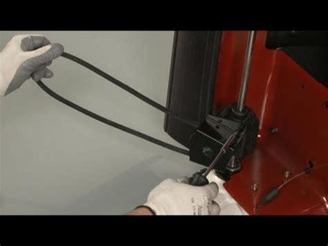 lawn mower belt replacement toro lawn mower repair part