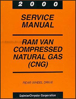 best auto repair manual 2000 dodge ram van 2500 spare parts catalogs 2000 dodge ram van compressed natural gas repair shop manual supplement