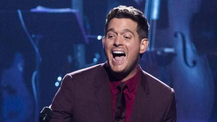 michael buble to present next year's brit awards bt