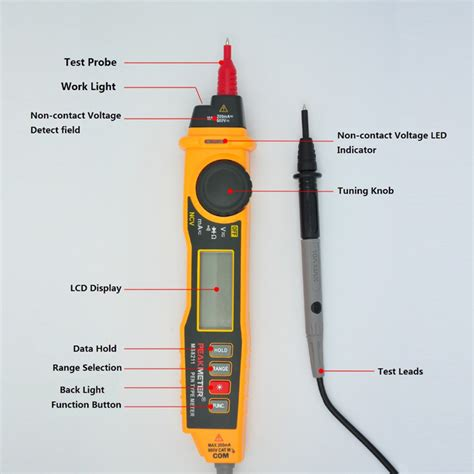 how to test integrated circuit with multimeter peakmeter ms8211 integrated design digital nvc multimeter pen type meter dmm diode and