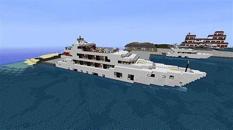 minecraft yot boat m y lady linda minecraft yacht minecraft project