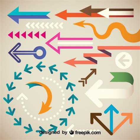 descargar imagenes variadas gratis colecci 243 n de flechas creativas retro de formas variadas