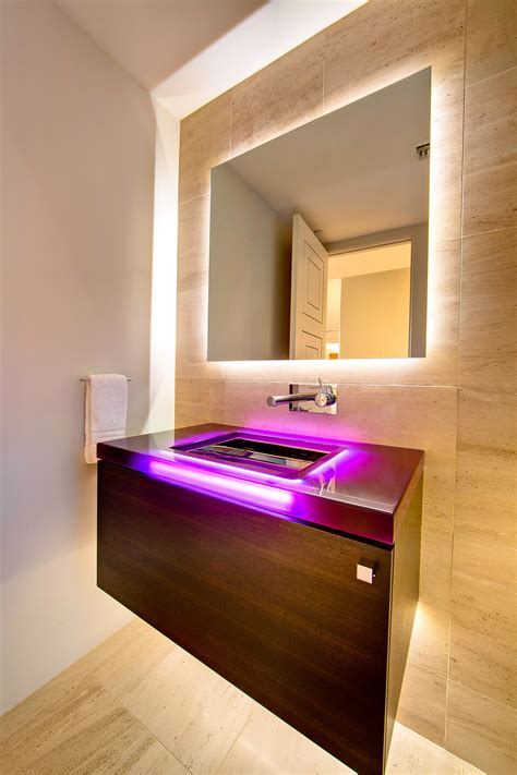 bathroom led lighting ideas led bathroom lighting ideas creative bathroom decoration