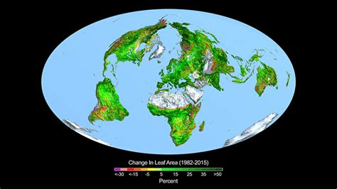 making earth greenerfor  climate change
