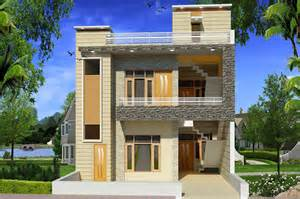 modern house elevation gharexpert home plans