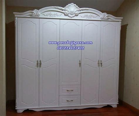 Asli Import Lemari Baju 12 Pintu Jual Lemari Baju 5 Pintu Ukiran Klasik Putih Murah