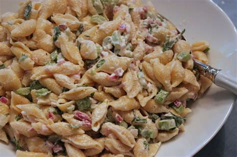 creamy pasta salad recipes pin by gina nevin on foood pinterest