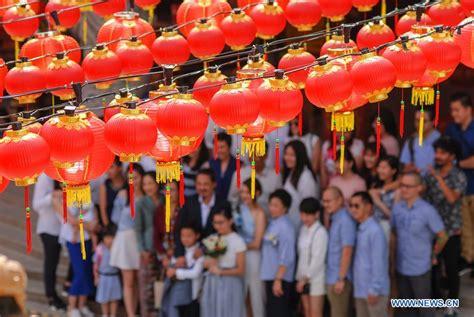 new year lantern supplier malaysia lanterns set for lunar new year in kuala