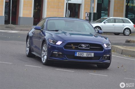 mustang 50 anniversary ford mustang gt 50th anniversary edition 24 october 2016