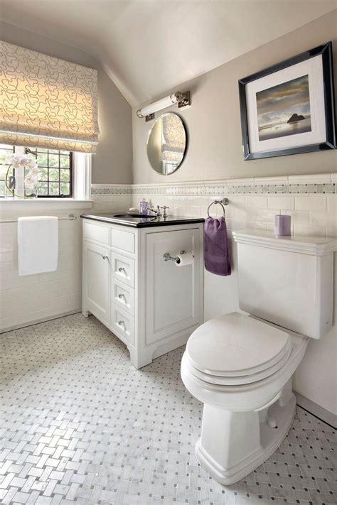 White Bathroom Floor Tile Ideas by Best 25 Subway Tile Bathrooms Ideas Only On