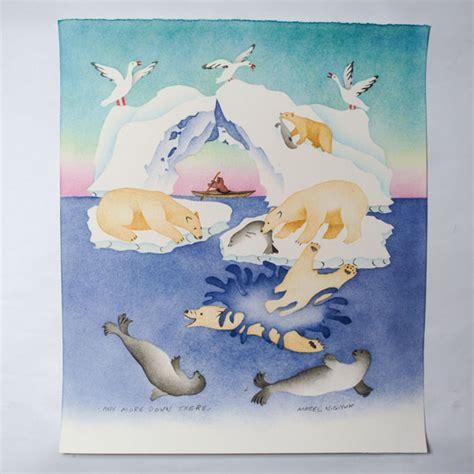 hanging prints inuit hanging wall prints ulukhaktok arts centre