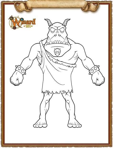 wizard101 coloring pages wizard101 media colouring pages