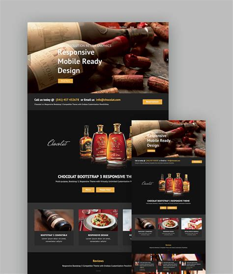18 Best Responsive Restaurant Food Website Templates Best Restaurant Website Templates