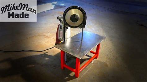 portable band saw table m 3 portable bandsaw table build