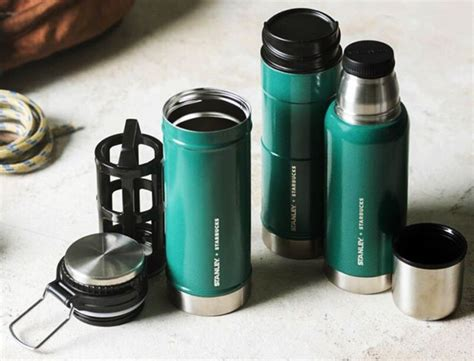 Starbucks Termos Kopi Botol Termos Vakum Stainless Steel Cangkir Iso stanley thermos shop collectibles daily