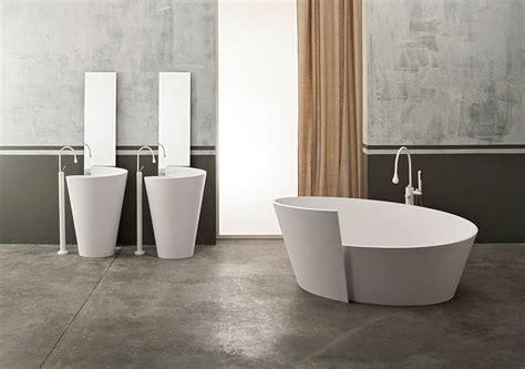 mastella bagni vasca da bagno da centro stanza forma spirale design