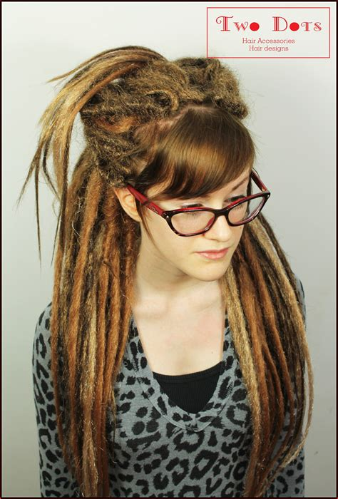 blonde dreadlocks extensions strawberry blonde brown synthetic dreadlocks extensions