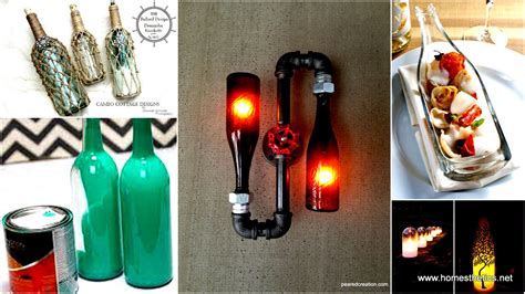 diy projects with bottles diy wine bottles crafts archives homesthetics