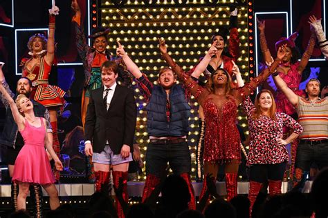kinky boots adelphi theatre review thighs  limit