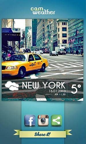 application for android mobile phone free camweather android mobile phone application
