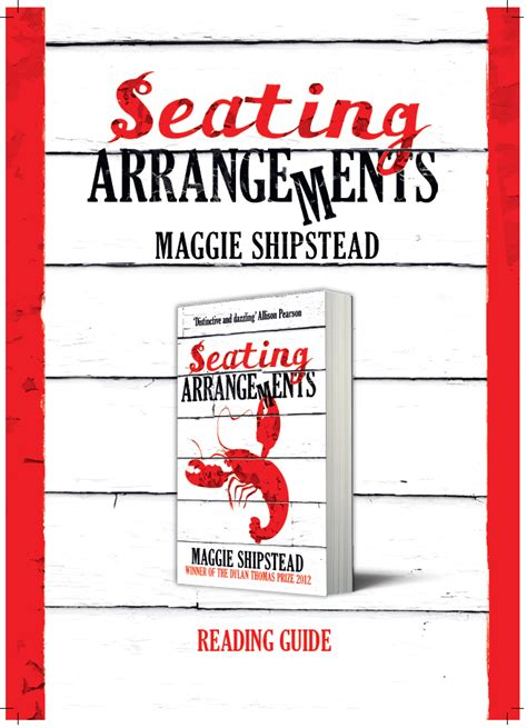 seating arrangement book a message to independent booksellers from maggie shipstead