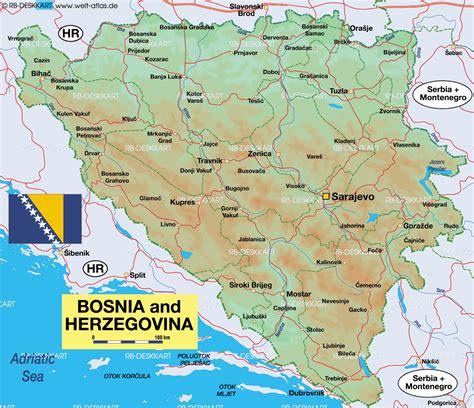 bosnia map impressum