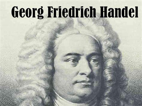 Tabellarischer Lebenslauf Georg Friedrich Handel Haendel