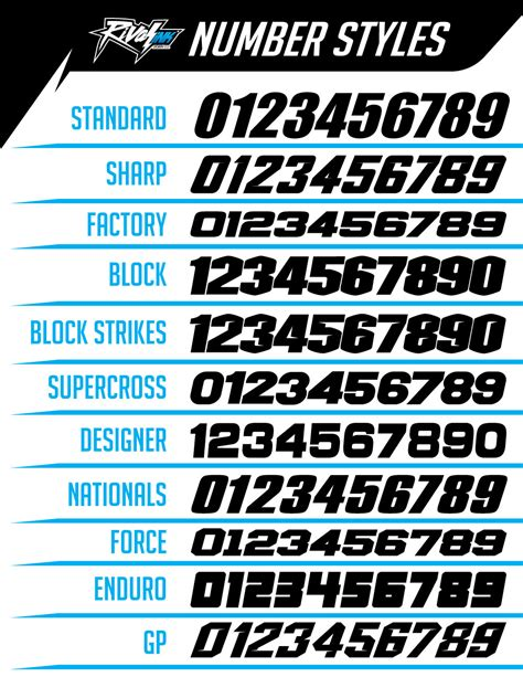 motocross jersey numbers custom graphics kit rival ink design co