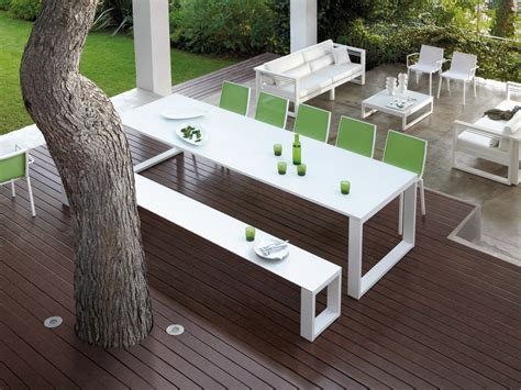 chic design ideas of contemporary outdoor furniture with