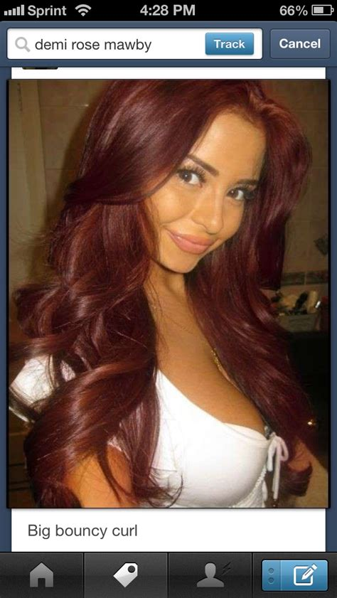 chocolate cherry and deep burgundy bown color pont tials extensions chocolate cherry hair color pictures dark brown hairs of