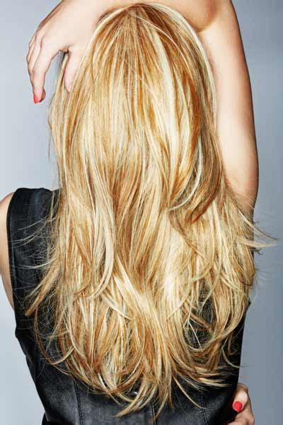 back of head layered blonde hair styles layered haircuts long thick hair harvardsol com