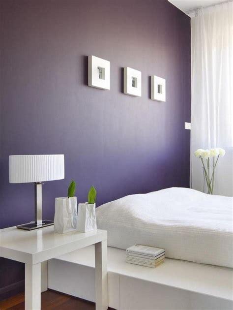Table De Nuit Violette by Couleur De Peinture Pour Chambre Violet Fonc 233 Table