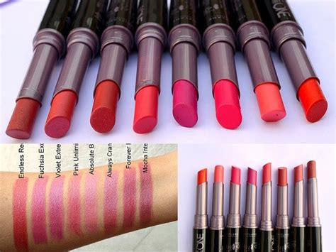 Lipstik The One 8 Oriflame The One Colour Unlimited Lipsticks Reviews