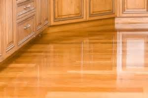 is it hard to keep shiny laminate floors clean