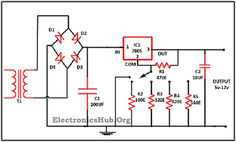 power supply circuit  lm