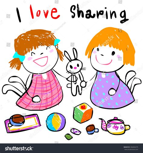 doodle buddy how to draw with friend friend stock vector 306084275