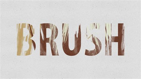 brush lettering tutorial photoshop how to make a brush text effect in adobe photoshop cs6