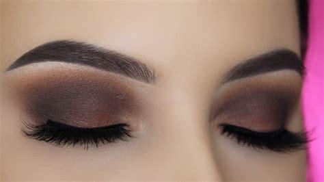 Eyeshadow Tutorial Brown Eyes Youtube | smoked out brown eye makeup tutorial youtube