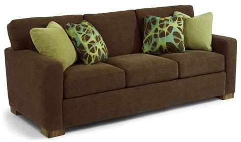 flexsteel bryant sectional flexsteel bryant contemporary sofa with track arms