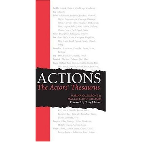 thesaurus comfort working with actors active verbs