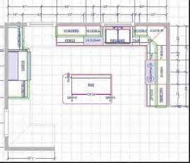 Kitchen Floor Plan 15x15 kitchen layout with island brilliant kitchen floor plans with